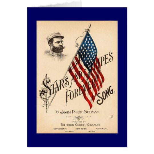 Stars and Stripes Forever Card