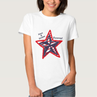Stars and Stripes Forever! Tee Shirts