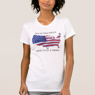 Stars and Stripes Forever United States of America T-shirts