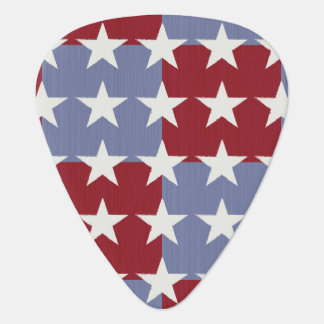 Stars and Stripes Guitar Pick