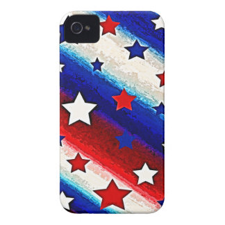 STARS AND STRIPES iPhone 4 Case-Mate Case
