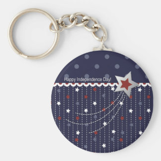 Stars and Stripes Keychain