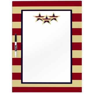 STARS AND STRIPES LARGE DRY ERASE BOARD