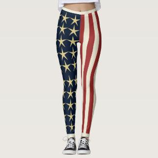 Stars and Stripes Leggings
