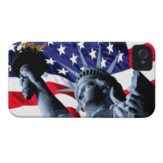 Stars and Stripes liberty iPhone 4 Covers
