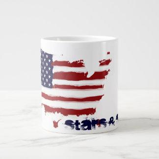 Stars and Stripes Jumbo Mug