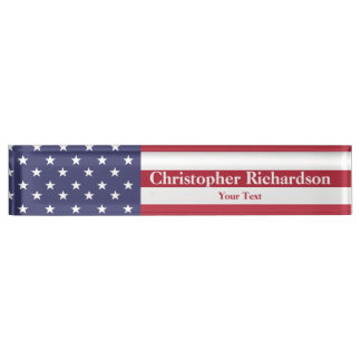 Stars and Stripes Nameplates