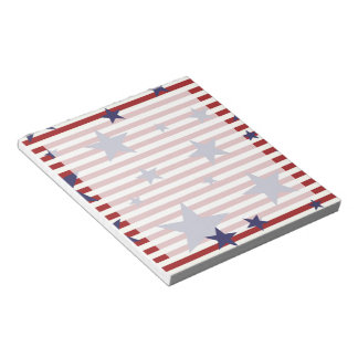 Stars and Stripes Notepad