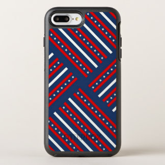 Stars and Stripes OtterBox Symmetry iPhone 8 Plus/7 Plus Case
