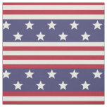 Stars and Stripes Patriotic American Flag USA Fabric