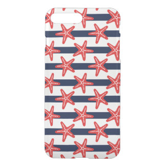 Stars And Stripes Pattern iPhone 8 Plus/7 Plus Case