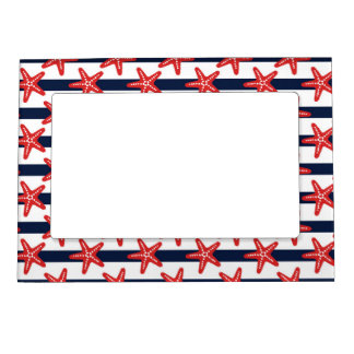 Stars And Stripes Pattern Magnetic Frame