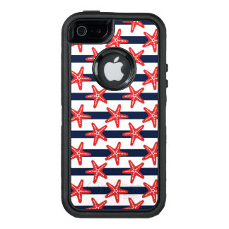 Stars And Stripes Pattern OtterBox Defender iPhone Case