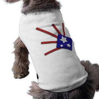 Stars and Stripes Pet Shirt