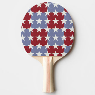 Stars and Stripes Ping Pong Paddle