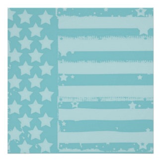 Stars and Stripes Print