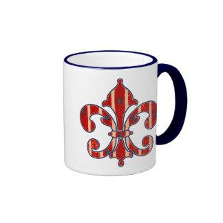 Stars and Stripes Ringer Mug