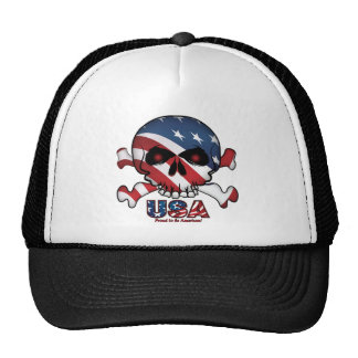 Stars and Stripes Skull Cap