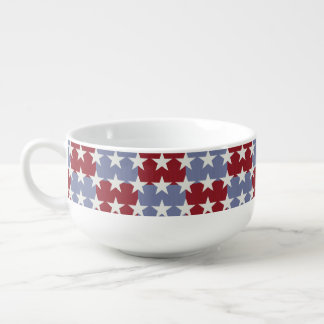 Stars and Stripes Soup Mug
