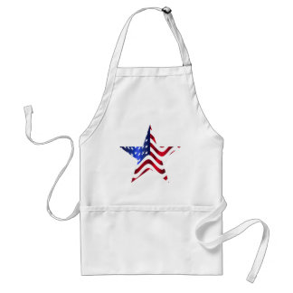 Stars and stripes standard apron