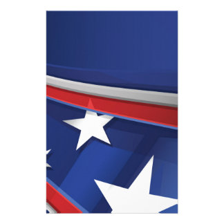 STARS AND STRIPES STATIONERY PAPER