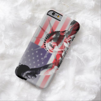 Stars and Stripes Statue of Liberty Barely There iPhone 6 Case