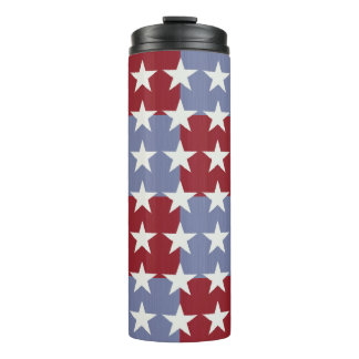 Stars and Stripes Thermal Tumbler