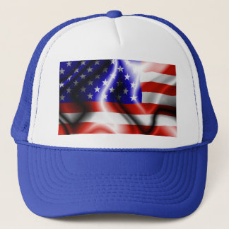 Stars and Stripes USA Flag Hat