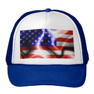Stars and Stripes USA Flag Hat