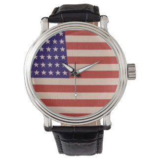 Stars and Stripes Watch