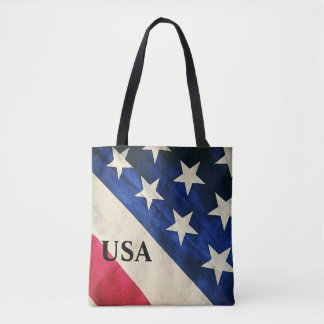 Stars and Strips Tote Bag