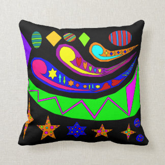 Stars and Swirls Cushion