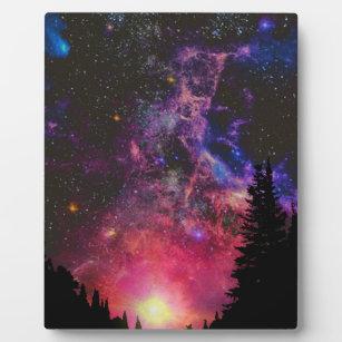 Stars and Tress Plaque
