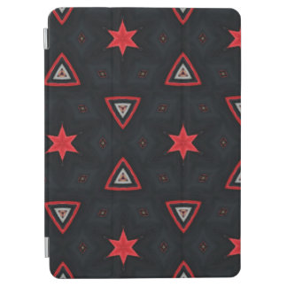 Stars and triangle pattern iPad air cover