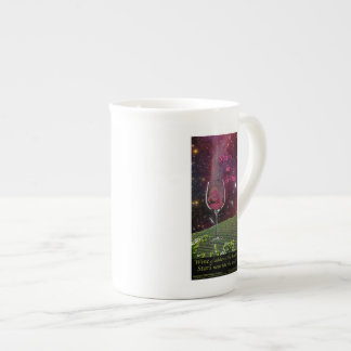 Stars and Vines Fine China Cup