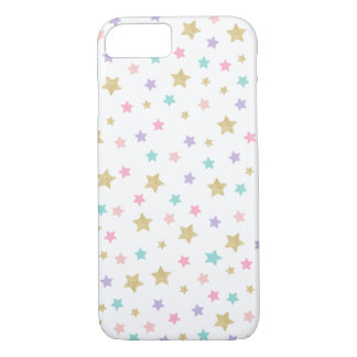 Stars Apple iPhone 7, Barely There Phone Case