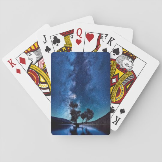 Stars at Night Playing Cards