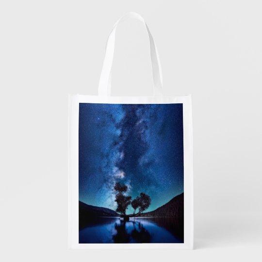 Stars at Night Reusable Grocery Bag