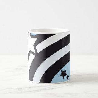 stars basic white mug