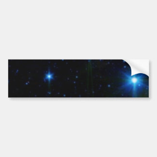 stars bumper sticker