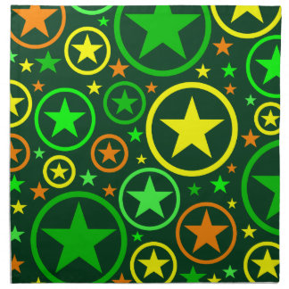 STARS & CIRCLES cloth napkins