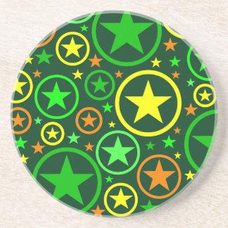 STARS & CIRCLES coaster