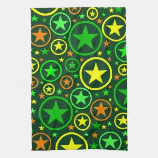 STARS & CIRCLES kitchen towels
