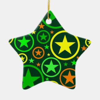 STARS & CIRCLES ornament - customizable