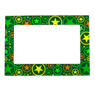 STARS & CIRCLES picture frame Picture Frame Magnets
