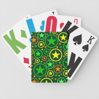 STARS & CIRCLES playing cards
