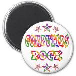 Stars Computers Rock Fridge Magnets