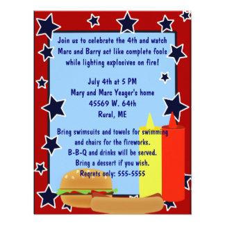 Stars Cookout Invitation