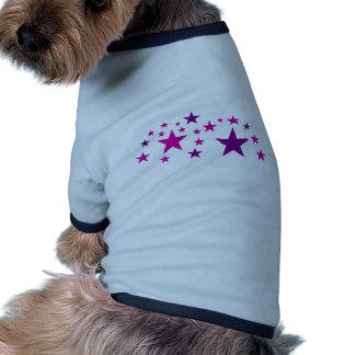Stars Dog T Shirt
