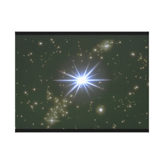 Stars. (galaxy;space;stars;color_Space Scenes Canvas Print